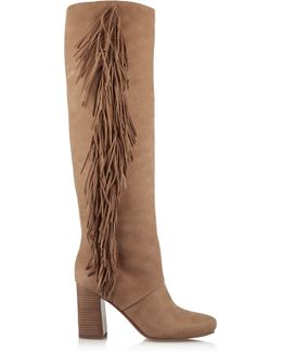 Taylan Suede Over-The-Knee Boots