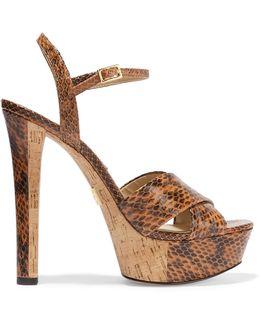 Addy Elaphe Platform Sandals
