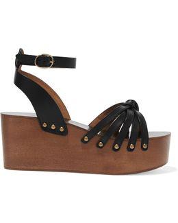 Étoile Zia Leather Platform Sandals