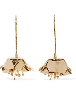 Paloma Gold-plated Earrings