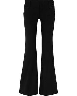 Olivia Wool-blend Flared Pants