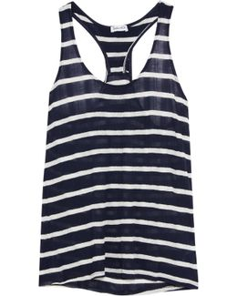 Huntington Striped Jersey Tank