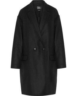 Filipa Oversized Wool And Cashmere-blend Coat