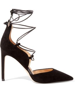Helaine Suede Pumps