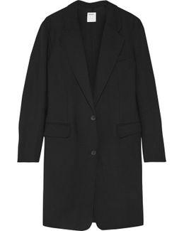 Stretch Wool-twill Coat