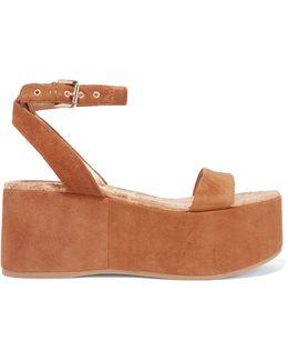 Henley Suede Wedge Sandals