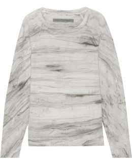 Tie-dyed Cotton-terry Sweatshirt