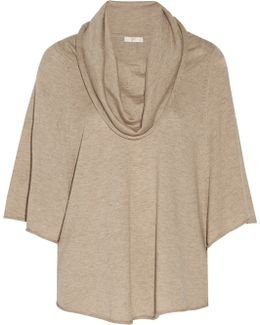 Celia Draped Knitted Sweater