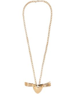 Melina Gold-plated Necklace