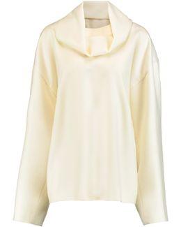 Baba Detachable Collar Wool Sweater