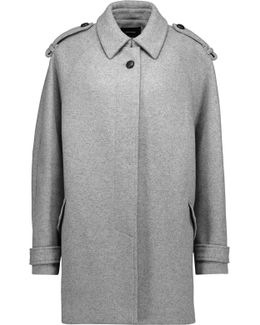 Faber Oversized Wool-blend Coat