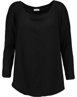 Supima Cotton And Micro Modal-blend Top