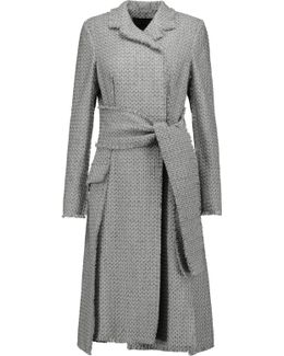 Frayed Tweed Coat