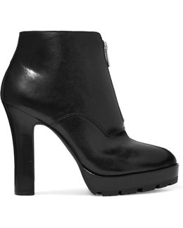 Flynn Leather Ankle Boots