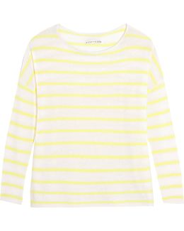 Efren Striped Cashmere Sweater