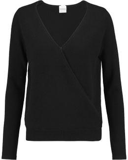 Denton Wrap-effect Cashmere Sweater