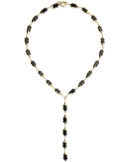 Harlequin Gold-plated Crystal Necklace