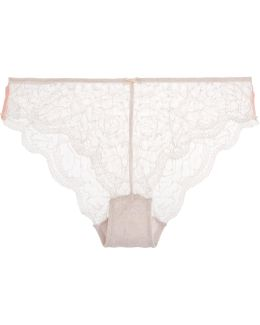 Cle D'amour Low-rise Lace Briefs