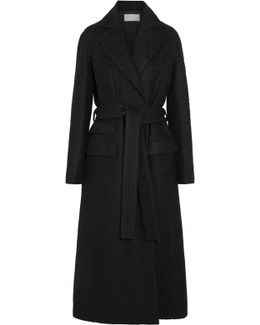 Alpaca And Wool-blend Belted Coat