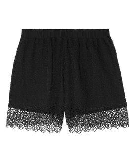 Macramé Pajama Shorts