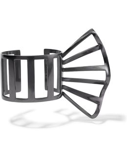 Gunmetal-plated Cuff