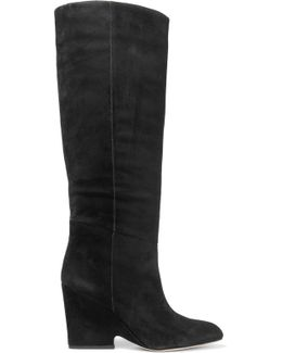 Whitney Suede Over-The-Knee Boots