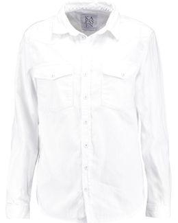 Rip 'n' Roll Distressed Denim Shirt