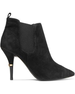Bernice Suede Ankle Boots