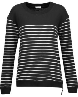 Adelaide Striped Cotton-blend Sweater