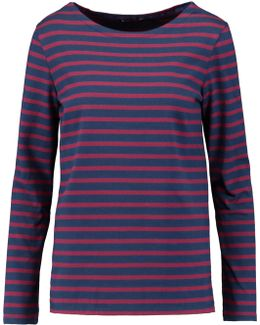 Mariniere Striped Cotton-jersey Top