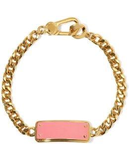 Katie Gold-tone Enamel Bracelet