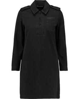 Girl Scout Cotton-canvas Mini Dress