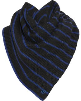 Eva Striped Wool Scarf