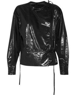 Nestor Silk-blend Lamé Jacket