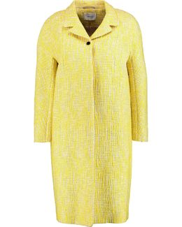 Cotton-blend Bouclé Coat
