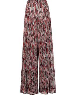 Athena Woven Wide-leg Pants