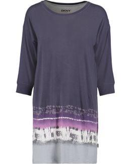 Printed Modal-blend Jersey Nightdress