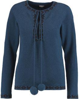 Baja Intarsia-knit Merino Wool And Cashmere-blend Sweater