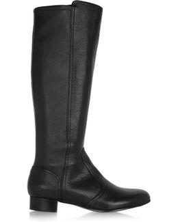 Hendin Leather Knee Boots