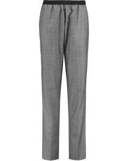 Marty Wool Straight-leg Pants