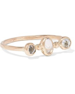 14-karat Gold, Topaz And Moonstone Ring