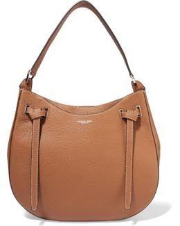 Rogers Large Textured-leather Shoulder Bag