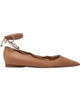 Kallie Leather Point-toe Flats
