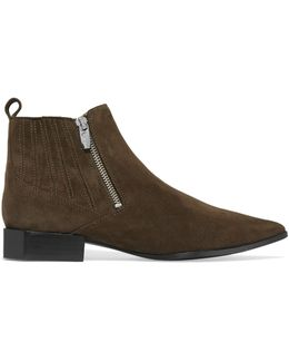 Bambie Suede Ankle Boots