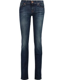 Roxanne Low-rise Straight-leg Jeans