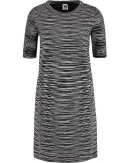 Crochet-knit Wool-blend Dress
