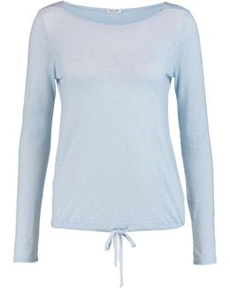 Supima Cotton And Modal-blend Top