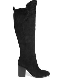 Bambina Suede Knee Boots