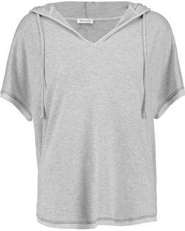 Hooded Stretch-modal Jersey Sweatshirt