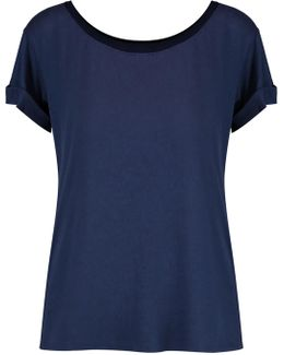 Supima Cotton And Modal-blend T-shirt